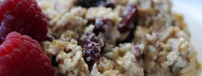 10 mins for preparing the healthiest Bircher Muesli breakfast